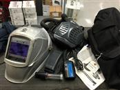 Miller PAPR w/ Titanium 9400 Auto Welding Helmet Carrying Bag and Extras
